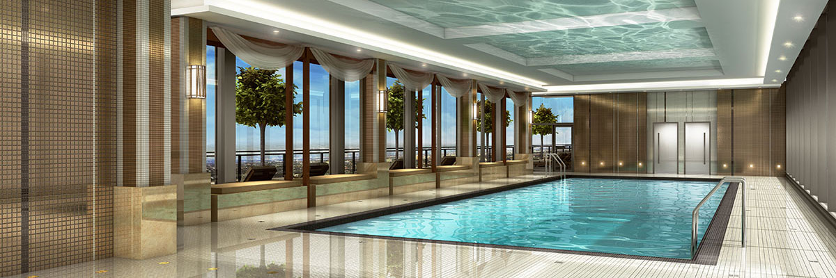 Perla Condos at Pinnacle Uptown Amenities - Pool