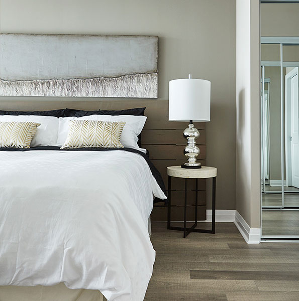 Perla Condos at Pinnacle Uptown - Bedroom