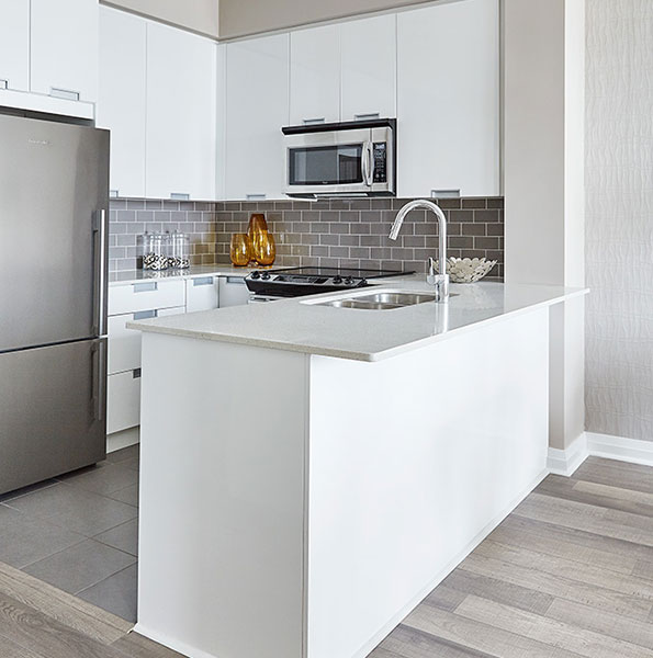 Perla Condos at Pinnacle Uptown - Kitchen