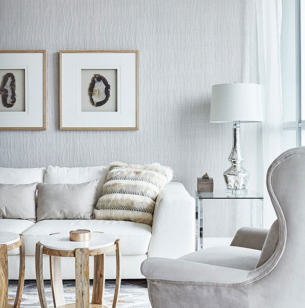 Perla Condos at Pinnacle Uptown - Living Room